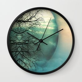 Uprooted Wall Clock