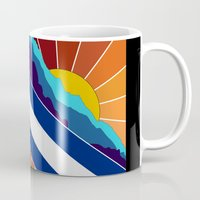denver Mugs featuring Denver, CO by HighTribe