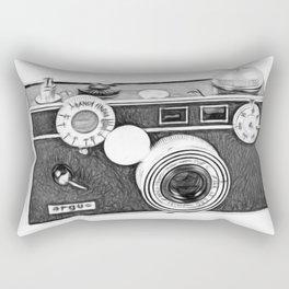 The Brick Argus Camera Rectangular Pillow
