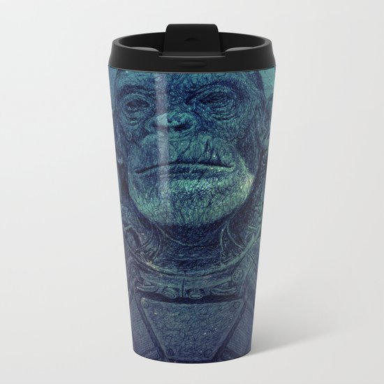 Apex-XIII: Mission I Metal Travel Mug