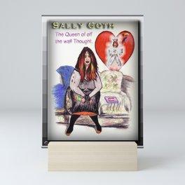 SALLY GOTH Mini Art Print