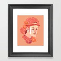 Aveline Framed Art Print