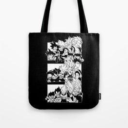 Saiyajin Heroes Tote Bag