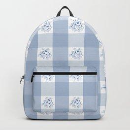 Greta - Gingham Backpack
