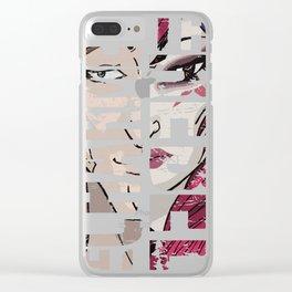 Rakan the Charmer, Xayah the Rebel V2 Clear iPhone Case