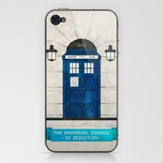 Doctor Who & Sherlock iPhone & iPod Skin