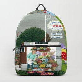 Purr-fect Blooms Backpack