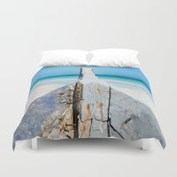 andreas preis Duvet Covers featuring CONTRAST by Catspaws