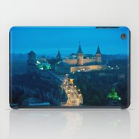 ukraine iPad Cases featuring Kamianets-Podilskyi Castle (Ukraine) by Limitless Design