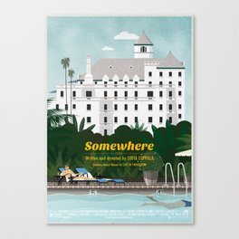 Somewhere fanart movie poster Canvas Print