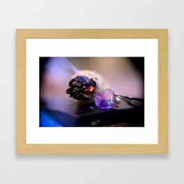 Negativity Away Framed Art Print