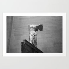 Winged Victory Art Print