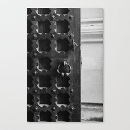 Manhattan Door Canvas Print