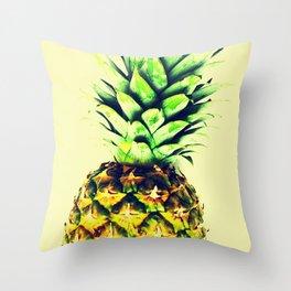 Delightful pineapple Throw Pillow