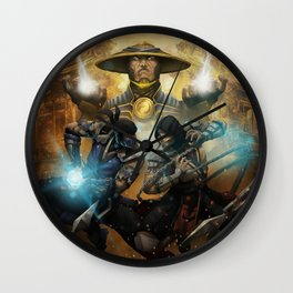 Sub-zero mk game Wall Clock