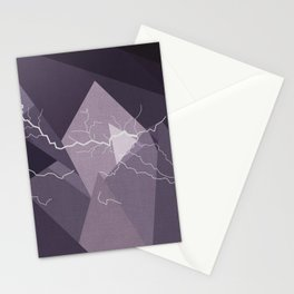 ABSTRACT STORM Stationery Cards