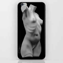 Statue Study iPhone Skin