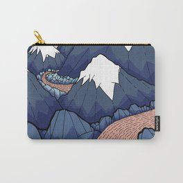 The twisting river in the mountains Carry-All Pouch