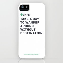 RoundAbout - N8 iPhone Case
