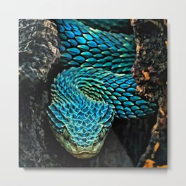 Bush Vipers Metal Print