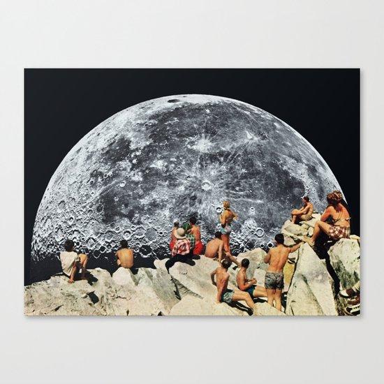 MOONRISE Canvas Print