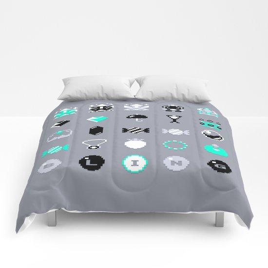 8-Bit Bling Comforters