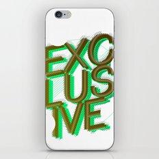 #exclusive iPhone & iPod Skin