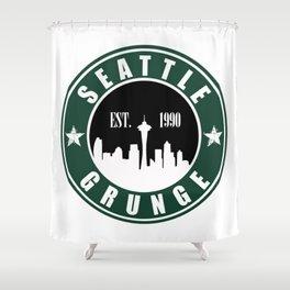 Seattle Grunge Shower Curtain
