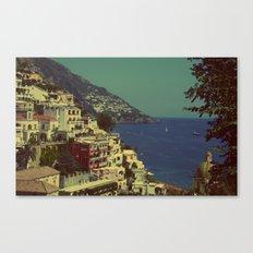 Positano, Italy View Canvas Print