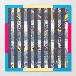 Polarised - frame graphic Canvas Print