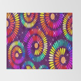 Colorful Ilusion Throw Blanket