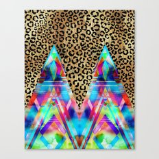 Leopard Prism {A} Canvas Print