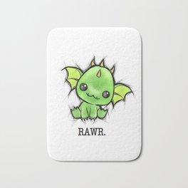 Baby Dragon Kawaii Bath Mat