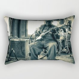 Hosea Hargrove, The Godfather Of Austin Blues Rectangular Pillow