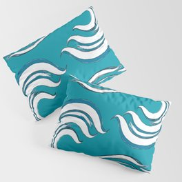 ocean wave beach coastal decor  Pillow Sham