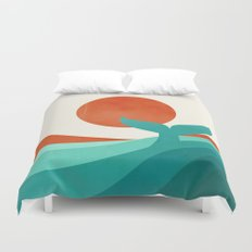 Wave (day) Duvet Cover