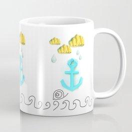 Papercraft Paper Planet. Sea Life Coffee Mug