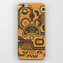 Nonsensical Doodle #3 iPhone Skin