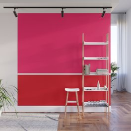 Abstract Rouge Wall Mural