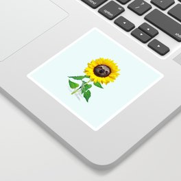 Slothflower Sticker