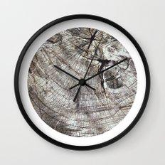 Planetary Bodies - Tree Wall Clock