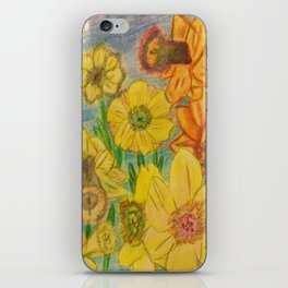 Daffies iPhone Skin