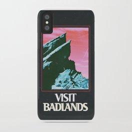 BADLANDS POSTER // HALSEY iPhone Case