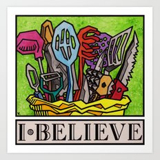 I.Believe|Cooking Art Print