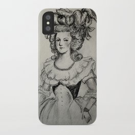 French Sketch II iPhone Case