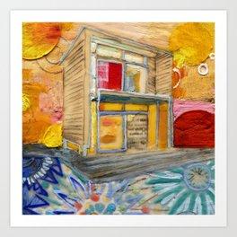 House of Endless Summer Art Print