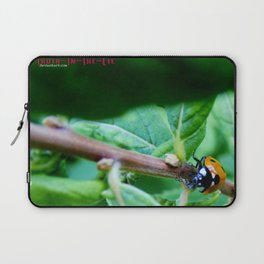 The long climb Laptop Sleeve