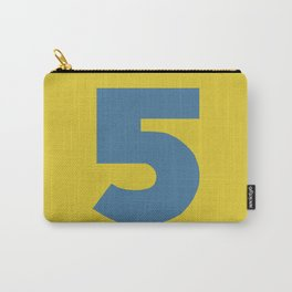 Number 5 Carry-All Pouch