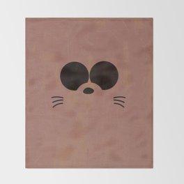 Minimalist Boota Throw Blanket