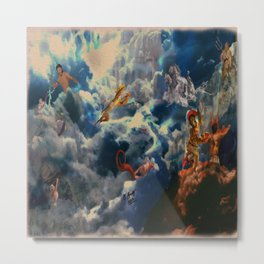 Battle of the Gods Metal Print